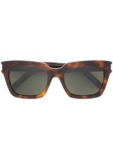 Saint Laurent chunky frame sunglasses