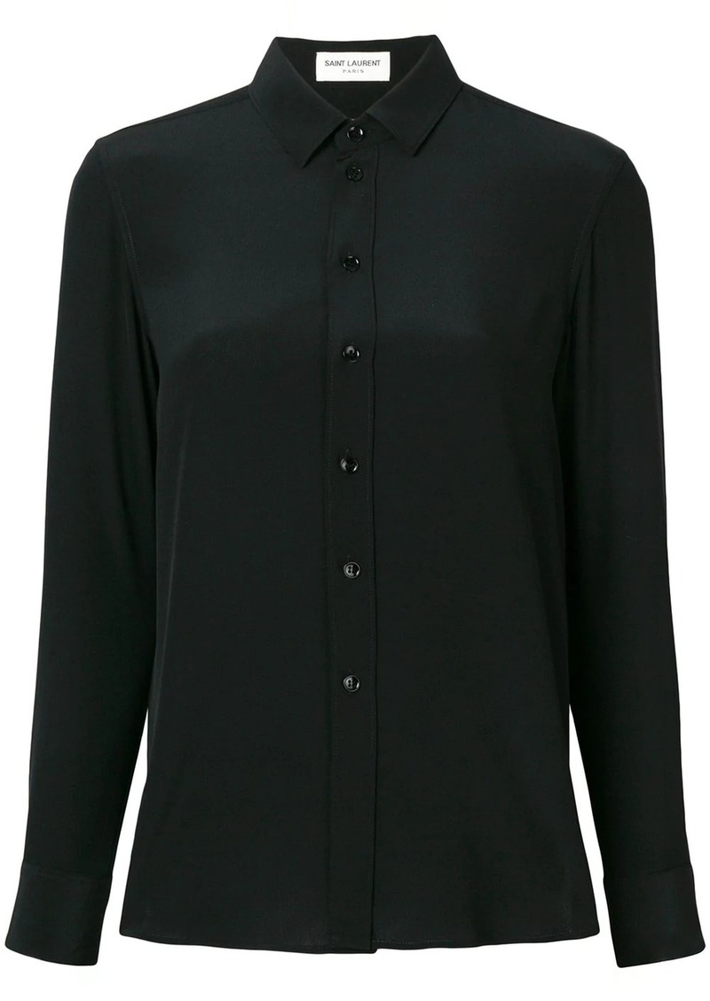 Saint Laurent classic fitted shirt