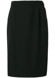 Saint Laurent classic pencil skirt