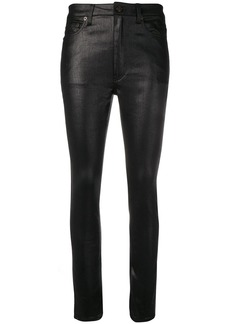 Saint Laurent coated skinny jeans