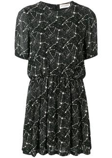 Saint Laurent Constellation print dress