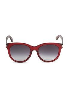 Yves Saint Laurent Core 55MM Square Sunglasses