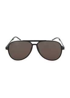 Saint Laurent Core 59MM Aviator Sunglasses