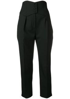 Saint Laurent corset trousers