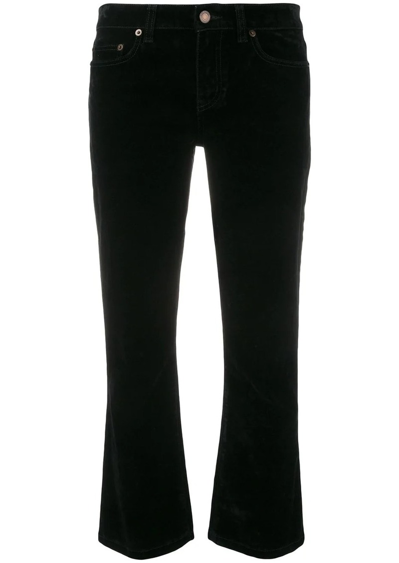 Saint Laurent cropped fitted jeans