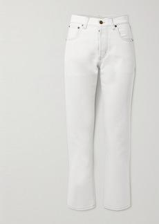 Saint Laurent Cropped High-rise Boyfriend Jeans