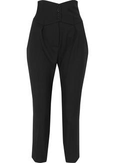Saint Laurent Cropped Slim-leg Pants