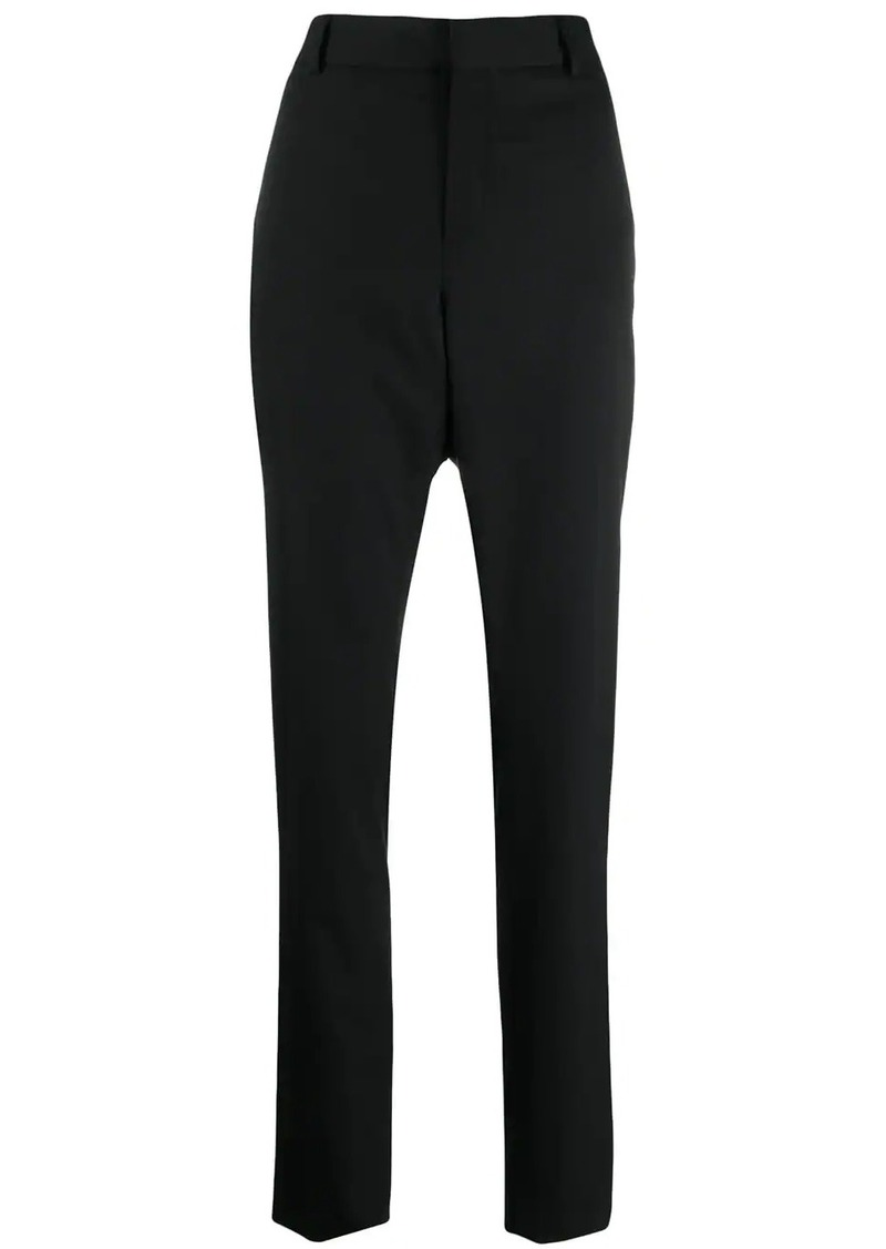 Saint Laurent cropped straight-leg trousers