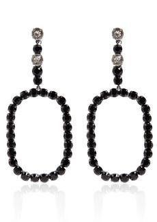 Saint Laurent Crystal Earrings