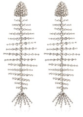 Saint laurent crystal fish clip on earrings abv3a99e8f6 a