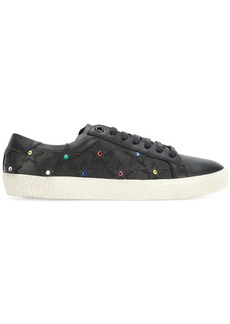Saint Laurent crystal stud Classic Court SL/06 California sneakers