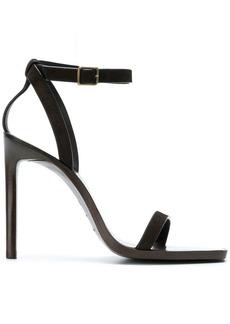 Saint Laurent cut-out detail sandals