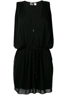 Saint Laurent deep V neck dress