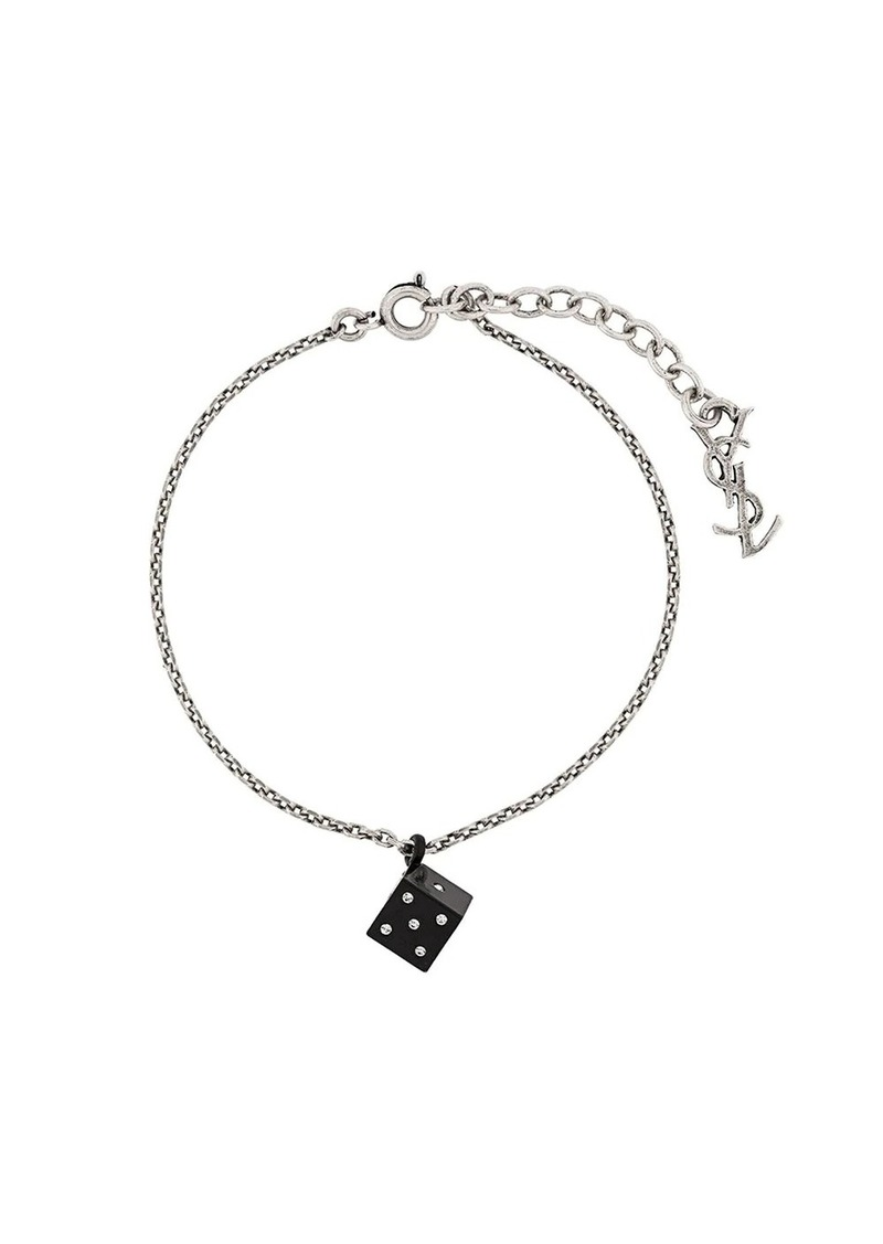 Saint Laurent dice bracelet