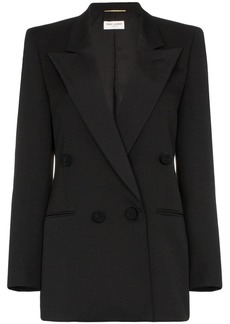 Saint Laurent double-breasted tuxedo blazer