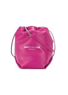 Saint Laurent drawstring bucket shoulder bag