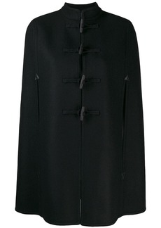 Saint Laurent duffle style cape coat