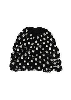 Saint Laurent Embellished Crochet Bonnet Hat