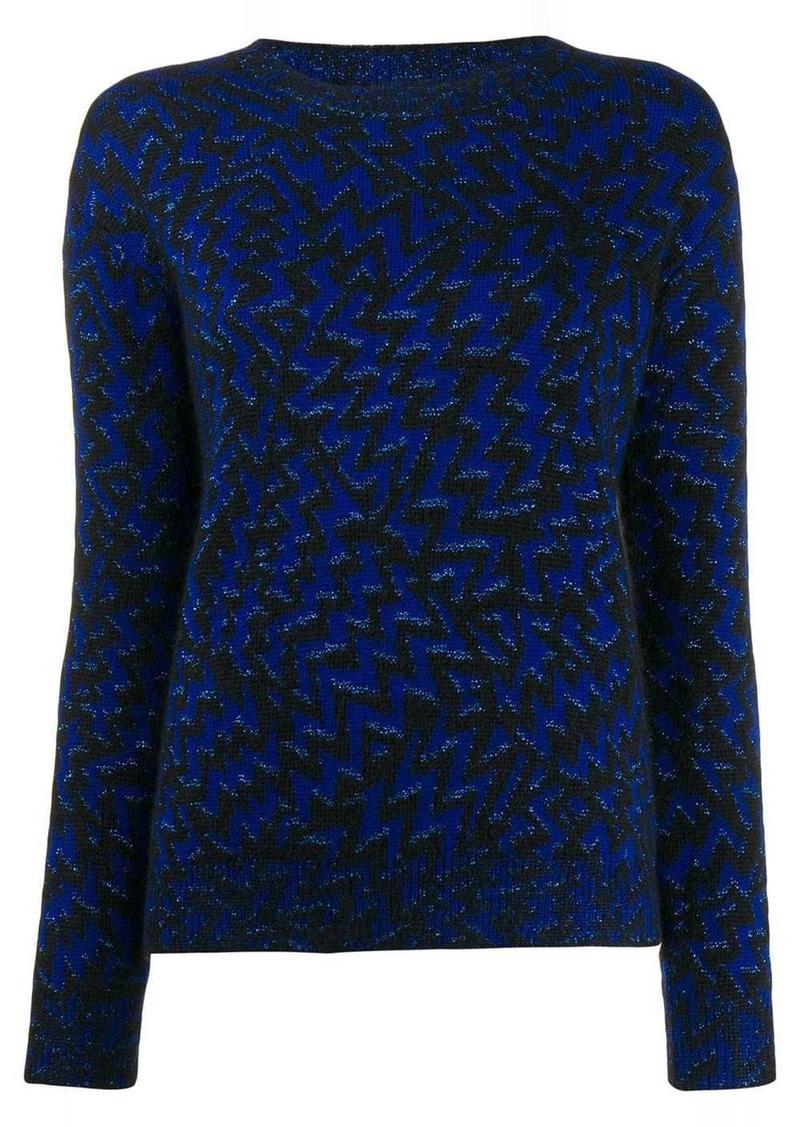 Saint Laurent embroidered jumper