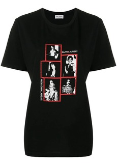 Saint Laurent Everything Now printed T-shirt