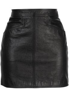 Saint Laurent fitted mini skirt