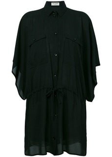 Saint Laurent fitted shirt dress