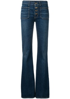Saint Laurent mid-rised bootcut jeans