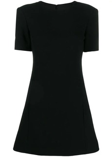 Saint Laurent flared mini dress