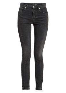 Saint Laurent Frayed Hem Jeans