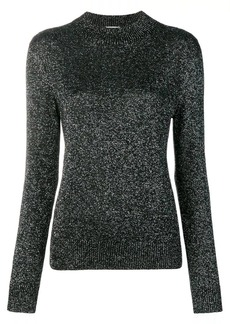 Saint Laurent glitter detail sweater