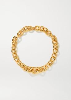 Saint Laurent Gold-tone Necklace