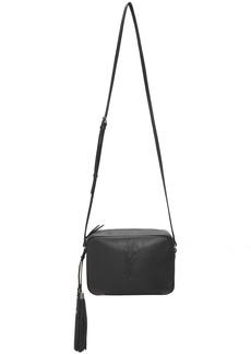Saint Laurent Grey Medium Lou Camera Bag