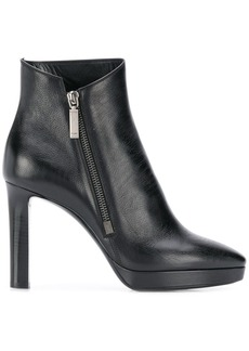 Saint Laurent Hall zip 90mm ankle boots