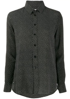 Saint Laurent heart-print shirt