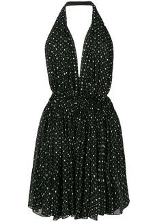 Saint Laurent heart printed dress