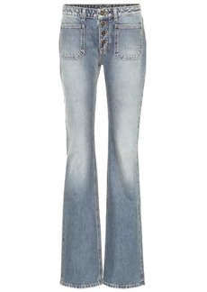 Saint Laurent High-rise bootcut jeans