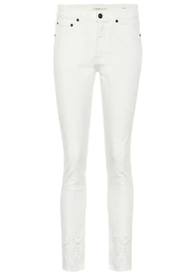 Saint Laurent High-rise slim jeans