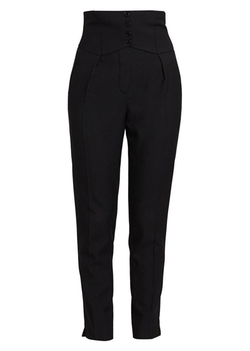 Saint Laurent High-Waist Pants