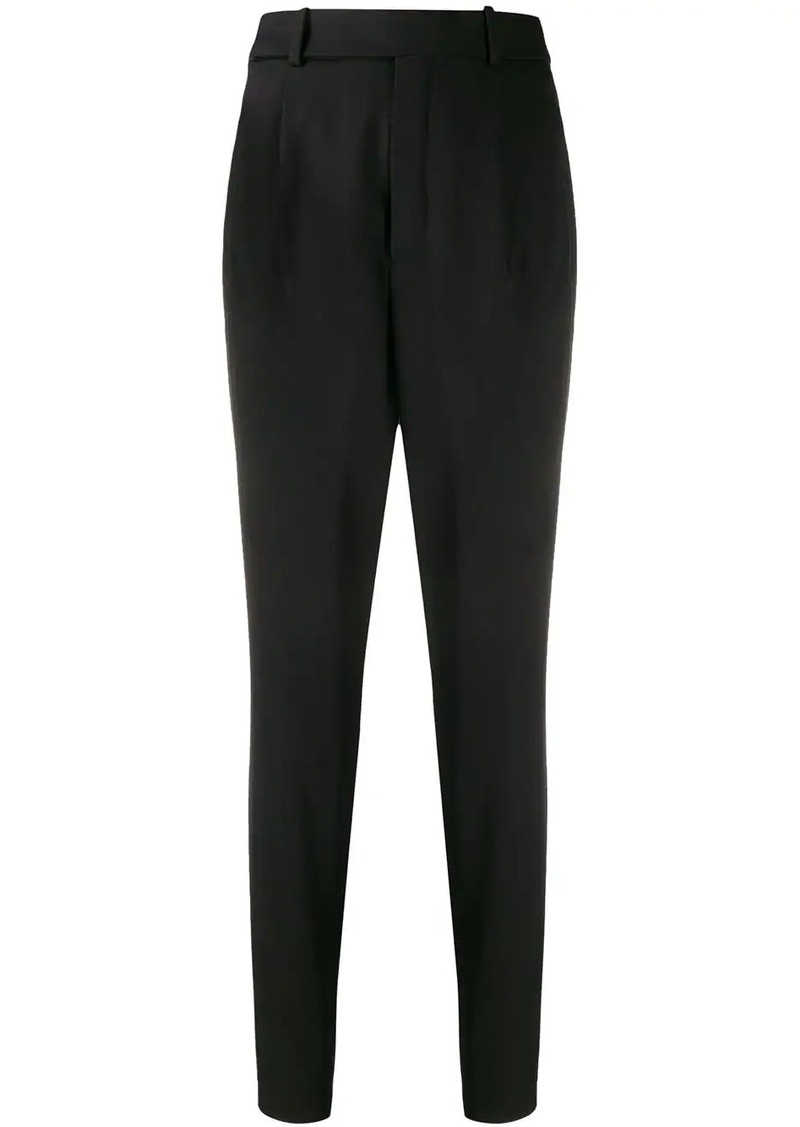 Saint Laurent high-waist tapered trousers