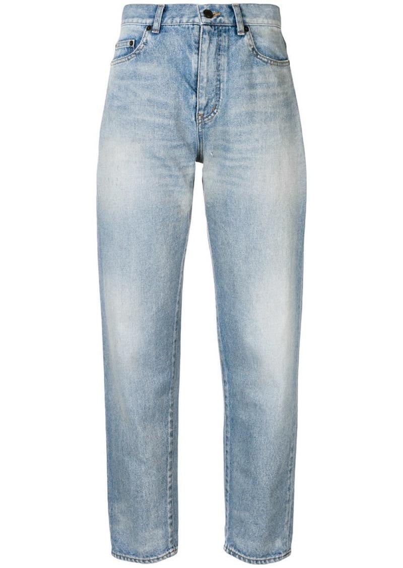 women high fashion super service high waisted boyfriend jeans