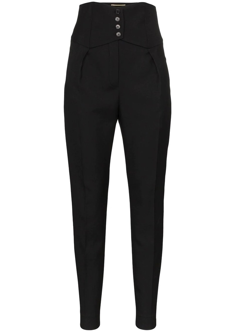 Saint Laurent high-waist trousers