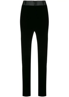 Saint Laurent high waisted skinny trousers