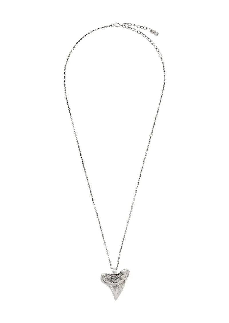 Saint Laurent horn necklace