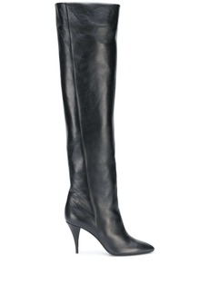 Saint Laurent Kiki 85mm knee-length boots
