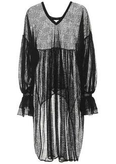 Saint Laurent Knitted lace blouse