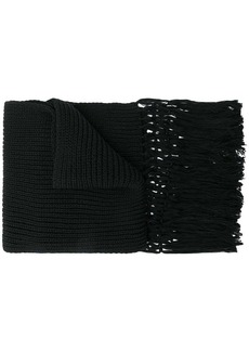 Saint Laurent knitted scarf