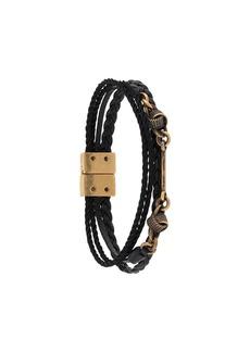 Saint Laurent knot detail bracelet