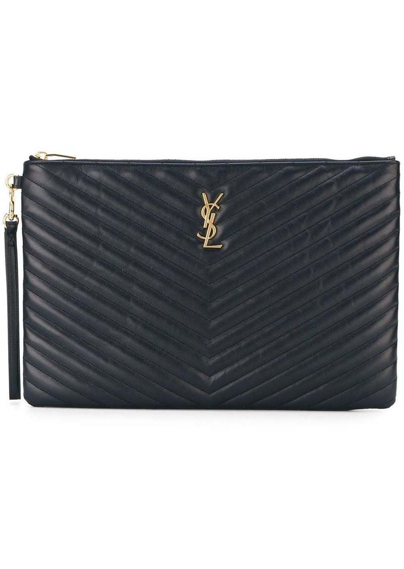 Saint Laurent large Monogram clutch