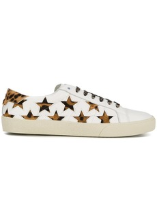 Saint Laurent leopard Signature Court SL/06 California sneakers