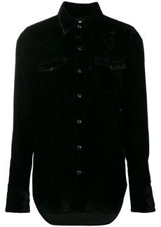 Saint Laurent long-sleeve fitted shirt